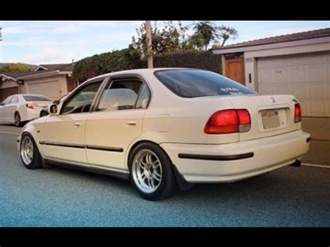 1996 Honda Civic Sedan by Type R Swapped 1996 Honda Civic Sedan One Take