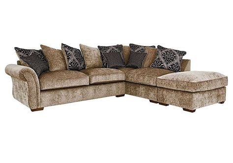 furniture village sofas fabric luxor fabric scatter back corner sofa furniture village