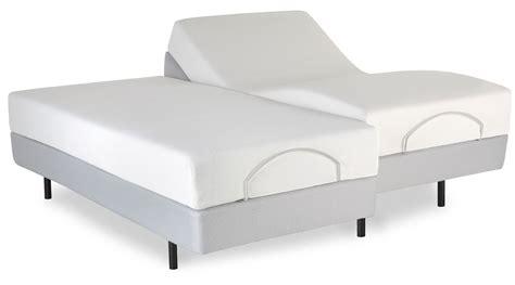split california king adjustable bed pro motion gray split cal king performance model 4aq476