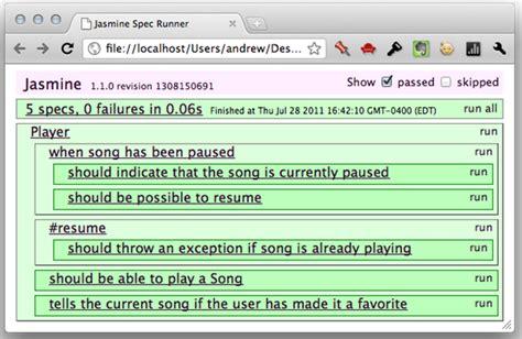 jasmine tutorial javascript testing testing your javascript with jasmine