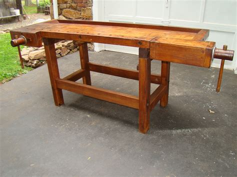 cabinet makers bench antique cabinet makers bench something industrial