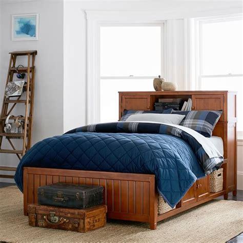 pbteen beds beadboard storage bed 2 0 pbteen