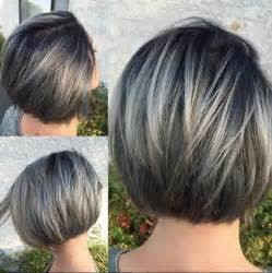 silver highlighted hair styles best 20 gray hair highlights ideas on pinterest