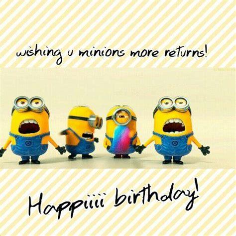 Minion Happy Birthday Wishes 2015 Joyful Minions Birthday Wishes Wedding Ideas And
