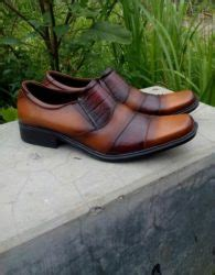 Sepatu Boots Pantofel Wanita Coklat Kulit Sepatu Formal Kerja Wanit toko sepatu kulit asli magetan harga grosir