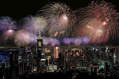 new year in hong kong hong kong new year s fireworks wallpapers happy new