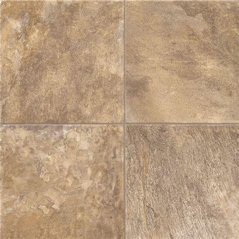 Congoleum Vinyl Flooring by Congoleum 12 Ft W Sand Bar Tile Low Gloss Finish Sheet