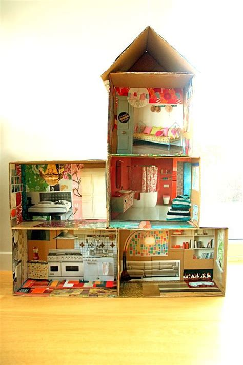 do it yourself doll house 25 b 228 sta paper doll house id 233 erna p 229 pinterest miniatyrer och barbiehus