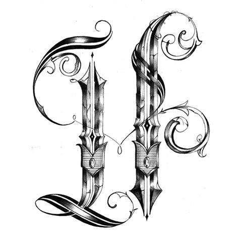 h tattoos designs quot h quot design on behance