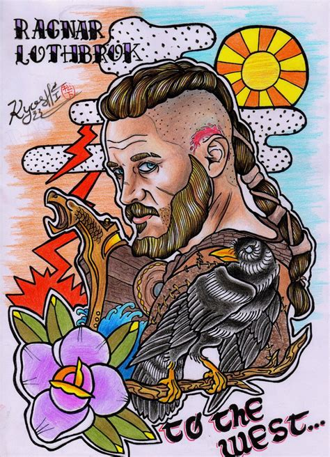 ragnar lothbrok by matsukyo on deviantart