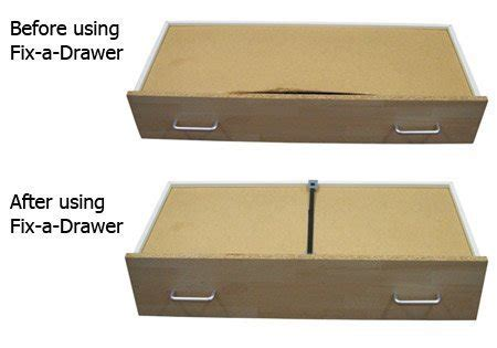 Fix A Drawer by Fix A Drawer Kit X4 Pack Repair Broken Drawers Quickly Easily Reinforce Ebay