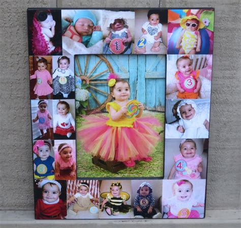 popular items for baby collage items similar to baby photo collage frame baby s