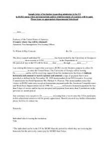 us b1 b2 visa invitation letter best photos of b1 b2 visa invitation letter visa