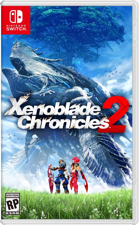 amazon xenoblade chronicles 2 box art and character art revealed for xenoblade
