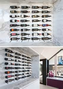 wine rack ideas show your bottles with a wall