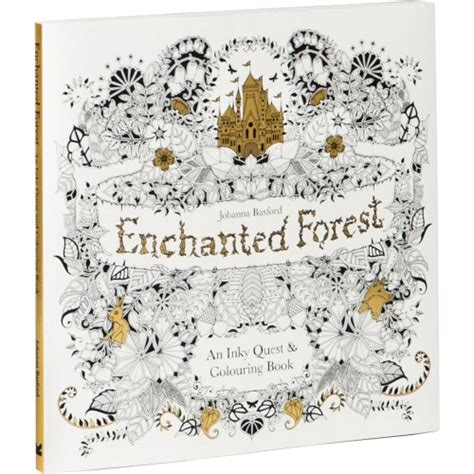 libro enchanted forest an inky enchanted forest an inky quest coloring book ohfriday