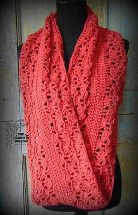 free crochet patterns for infinity scarves free patterns to and crochet infinity scarf squareone for