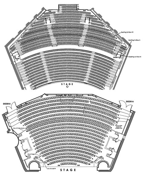 florida repertory theatre seating chart civic opera house seating map house plan 2017