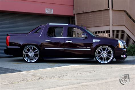 Custom Cadillac Escalade Ext by Cadillac Escalade Ext Luxury Truck Restyled By