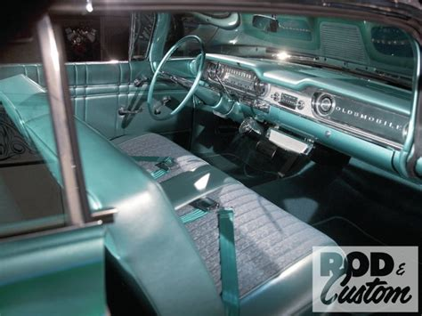 Dynamic Upholstery by 1960 Oldsmobile Dynamic 88 Starlite Rod Kustom