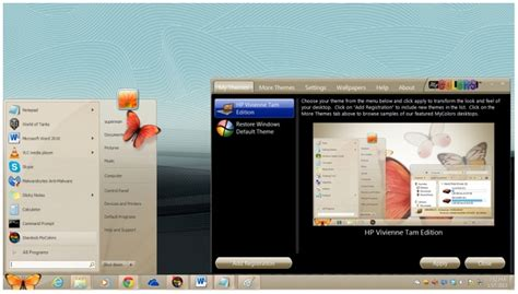 themes hp how to get hp win7 original themes for free techyv com