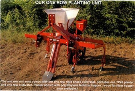 Single Row Seed Planter by Covington Tp 46 Single Row Planter