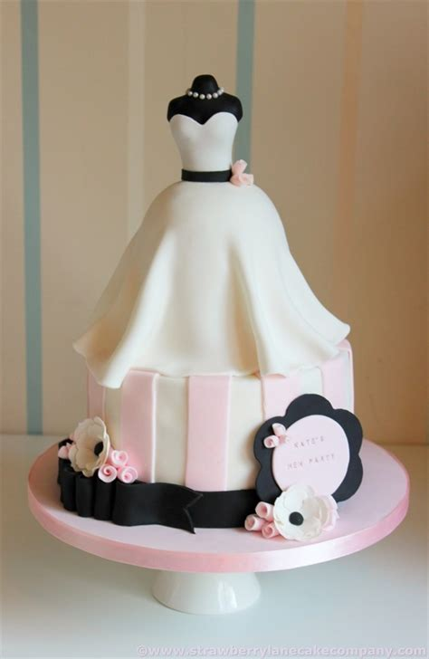 wedding dress bridal shower cake cakecentral - Bridal Shower Cake Decorating