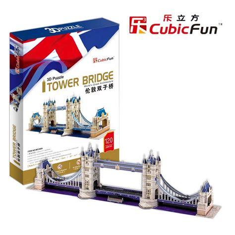 Puzzle 3d By Cubic cubic 3d puzzle quot tower bridge quot puzzles and
