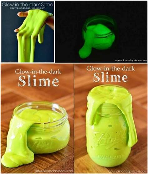 easy to make glow in the slime diy find
