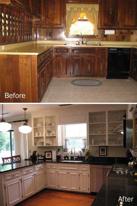 painting kitchen cabinets ideas home renovation best 25 wood paneling makeover ideas on pinterest