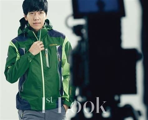 lee seung gi handsome lee seung gi is handsome in outdoor gear for quot 1st look