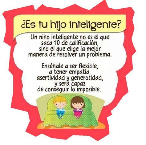 Imagenes De Hijos Inteligentes   si piensas que tu hijo es inteligente porque saca 10