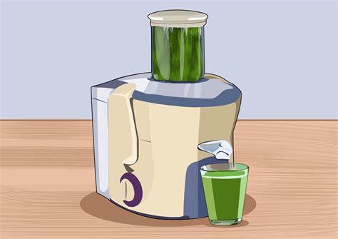 Juicer Wheatgrass 3 ways to juice wheatgrass wikihow