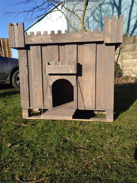 how to make a small dog house build a dog house out of pallet pallets designs