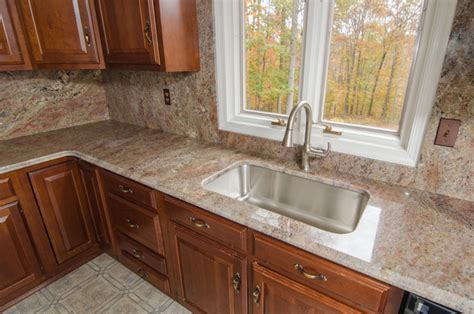 4 granite backsplash crema bordeaux granite with backsplash traditional