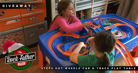 step2 wheels table wish guide giveaway step2 wheels car track