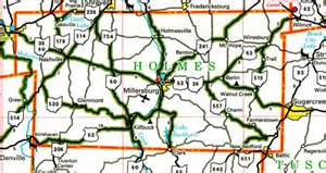 Holmes County Ohio Map by 301 Moved Permanently