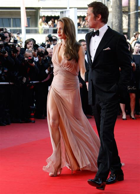 Brangelina Cannes Do by S Versace Dress For Cannes 2009 Stylefrizz