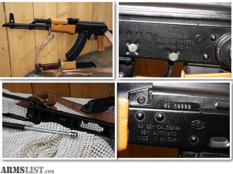 Sale Cha Nel Import armslist for sale feg hungarian sa 85m kassnar import