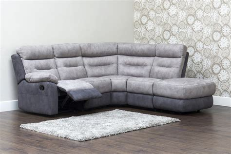 Recliner Corner Sofa Dillon Fabric Recliner Corner Sofa Rhf