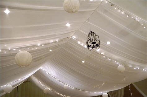 Decorate Ceiling With Fabric by Indoor False Ceilings Fabric Ceilings And Walls For