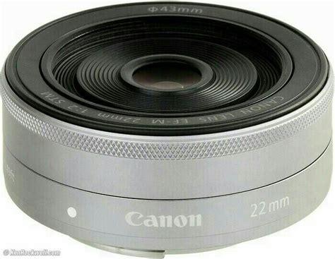 Lensa Canon Eos M jual new lensa fix canon eos m ef m 22mm 1 2 stm efm garansi 1 tahun istana tas kamera