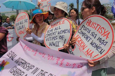 comfort women philippines globe news web globe news 183 abs cbn philippines pope