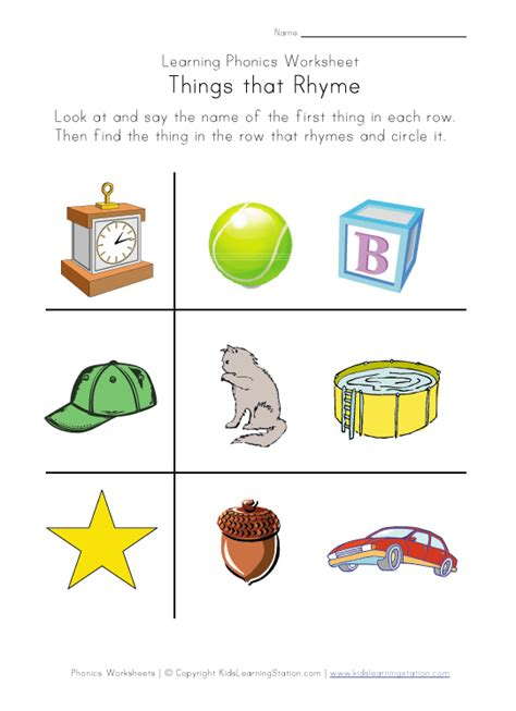 Rhyming Worksheets by Free Coloring Pages Of Grade Rhyming