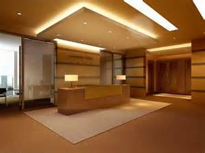 reception with false ceiling 3d model max cgtrader