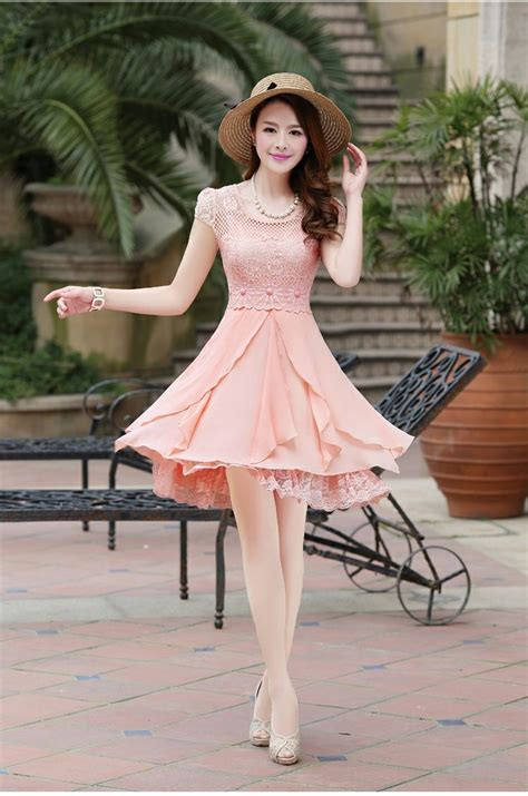 Dress Korea Pink By Griyaaglie 48 best images about dress ideas on kawaii