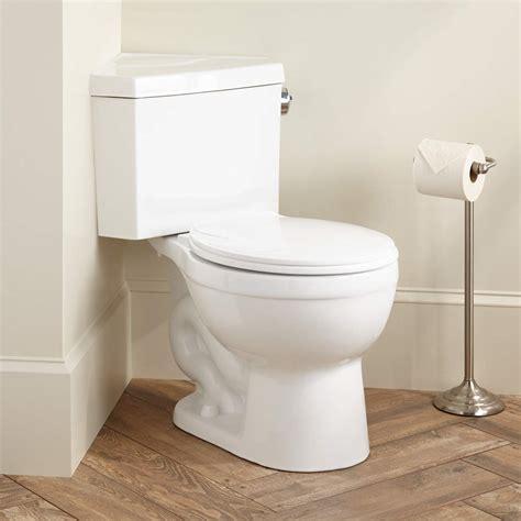 Eco Flush Toilet Not Flushing by Signature Hardware Barnum Dual Flush Corner Toilet With