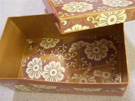Decoupage On Cardboard - decoupage sewing boxes finished tropical threads