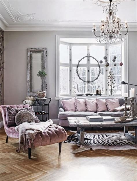 pink home decor metallic grey and pink 27 trendy home decor ideas digsdigs