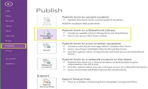 infopath 2013 templates infopath forms 2013 part 1 sharepoint